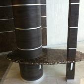 Декоративный мраморный столик
