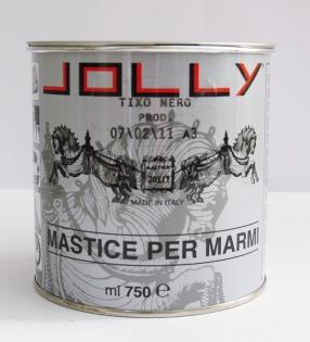 """Густой клей-мастика JOLLY tixo """"по мокрому"""", Paglerino (кремовый), Bianco (белый)"""